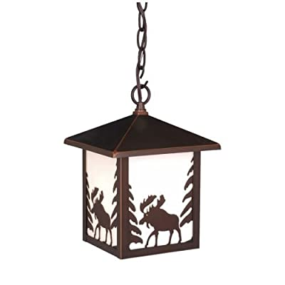 Vaxcel One Light Outdoor Pendant OD36986BBZ One Light Outdoor Pendant