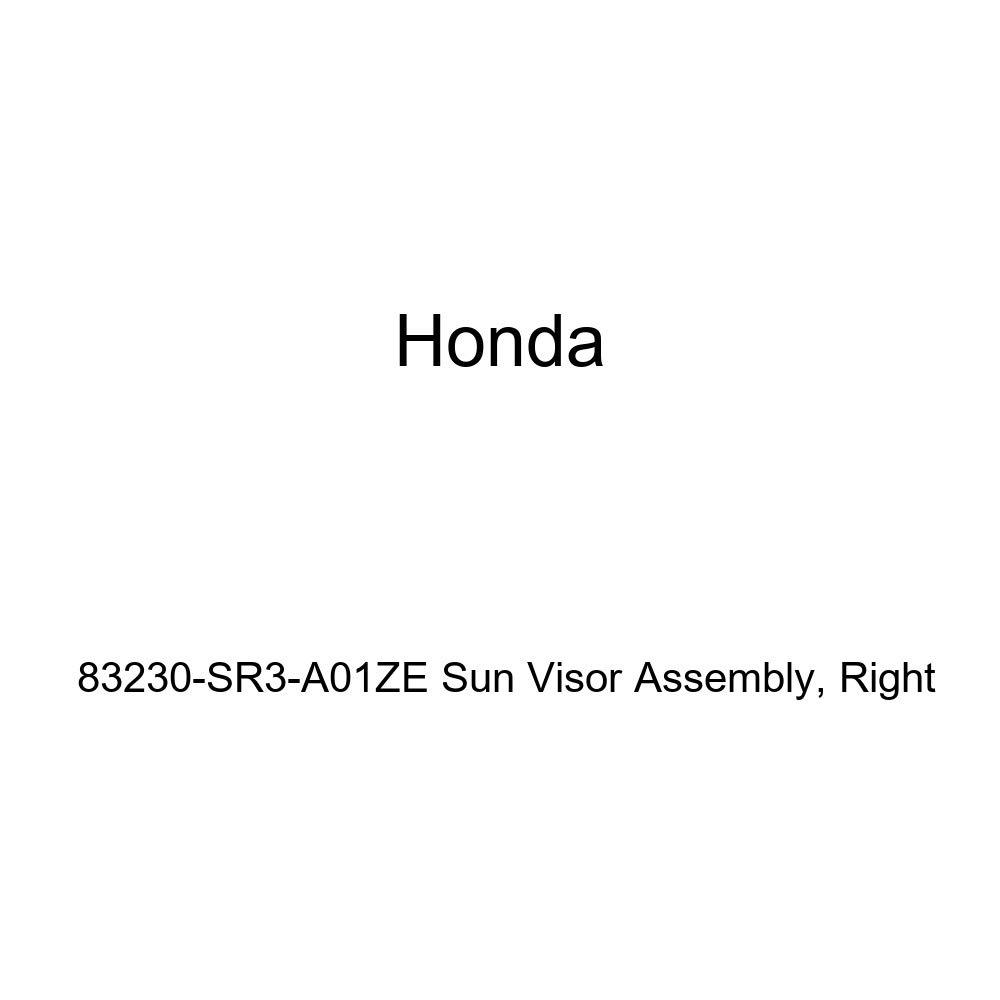 Honda Genuine 83230-SR3-A01ZE Sun Visor Assembly Right