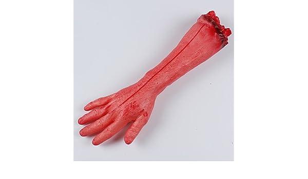 Amazoncom 2pc Broken Hand Broken Foot For Halloween Costume Party