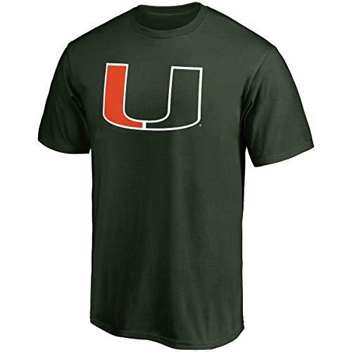 Profile Varsity University of Miami Men's Big & Tall Hurricanes Logo T-Shirt (3XL) ()