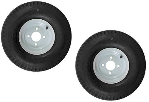 eCustomRim 2-Pk Trailer Tire & Rim 570-8 5.70-8 8
