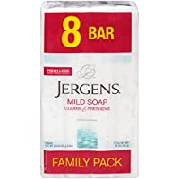 Deals on 8-Count Jergens Mild Soap for Face and Body 3.5oz