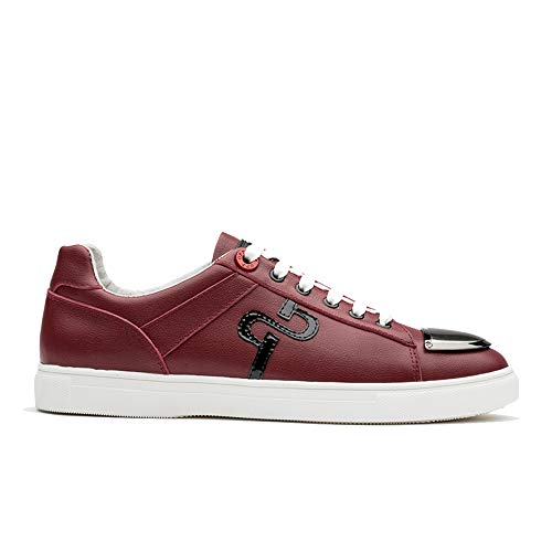 Lace-Up Sneaker (10 D(M) US, RED)