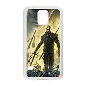 The Witcher 2 Assassins Of Kings Game Samsung Galaxy S5 Cell Phone Case White Customized Toy pxf005_9712433