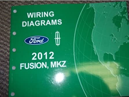 2012 ford fusion lincoln mkz electrical wiring diagram shop service rh amazon com 2014 ford fusion ac wiring diagram 2013 ford fusion ac wiring diagram