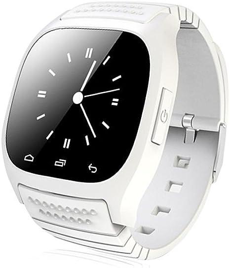 LightInTheBox Smart Watch Reloj para Hombre Inteligente M26 Bluetooth Rwatch