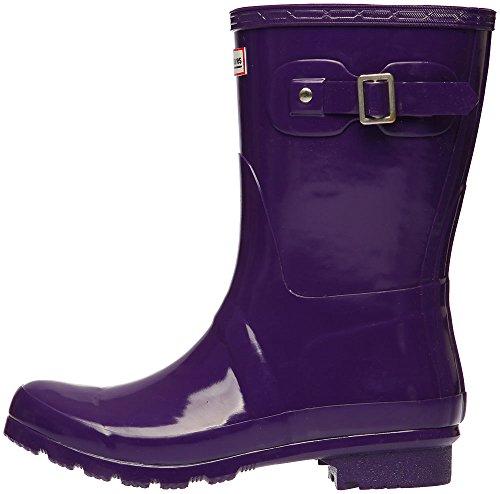 Middle Paperplanes Purple 1193 Garden Women Wellington Boots 1 Rain Trendy nxtrqzawx