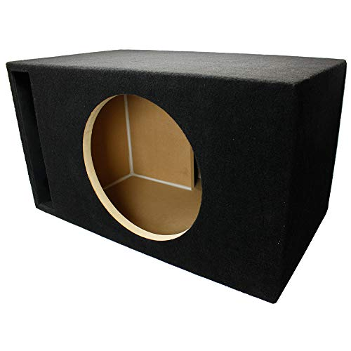 LAB SlapBox 3.50 ft^3 Ported/Vented MDF Sub Woofer Enclosure for Single Sundown Audio SA-15 (SA15) Car Subwoofer - 3/4