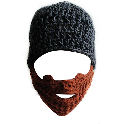 Yosang Windproof Ski Mask Warm Knitted Beanie Hat Cap -