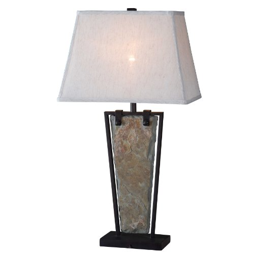 Slate Transitional Table Lamp - 5
