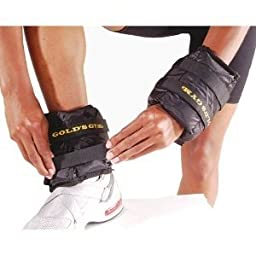 Gold\'s Gym Adjustable Pair Wrist/Ankle Weights - 5 lb. Pair