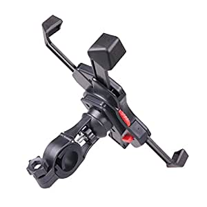 Hypersonic Bike Phone Mount, Bicycle and Motorcycle Phone Holder, Fits iPhone 8 / 7, Android and All Smartphone
