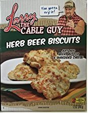 Larry The Cable Guy Herb Beer Biscuits 12 Oz Box (2 Pack - 24 Oz Total) ()