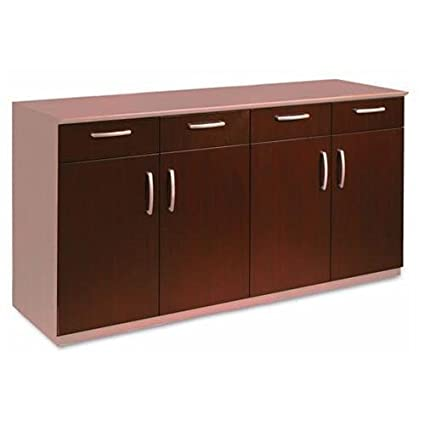Exceptionnel Mayline VBCZDCRY Wood Veneer Buffet Credenza Doors/drawers, Sierra Cherry    Mahogany
