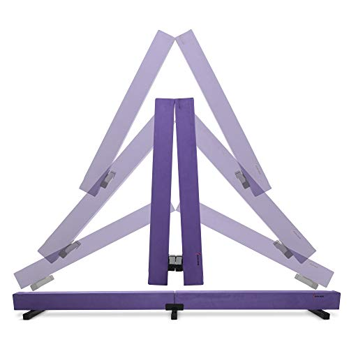 Joom Beem Pink and Purple Gymnastics Beam Balance Beam for Girls