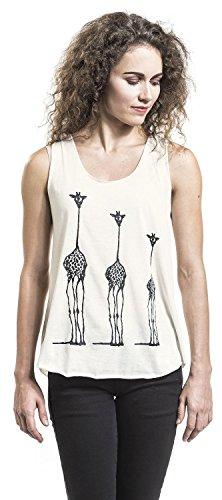Innocent Giraffe Vest Top Mujer Blanco Blanco