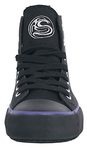 Sneakers Alte Cat Spiral Nero Black wqCFwzP