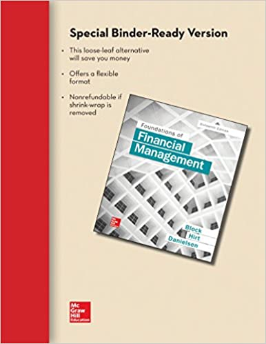 Amazon loose leaf foundations of financial management loose leaf foundations of financial management 16th edition fandeluxe Gallery