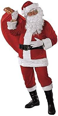 Rubies Disfraz Papa Noel Premium AD: Amazon.es: Juguetes y juegos