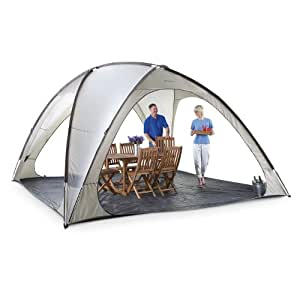 Famous Maker Northport 14x14' Domed Canopy Off white