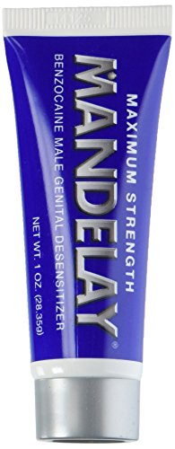 Mandelay Maximum Strength Climax Control Gel, 1 Oz (Pack of 1)