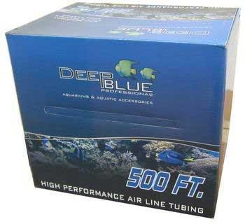 Deep Blue Professional ADB12297 Silicone Air Tubing for Aquarium, 500-Feet by Deep Blue Professional B00BUFTQF4
