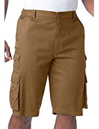 Men's Big & Tall Ranger Side-Elastic Cargo Shorts