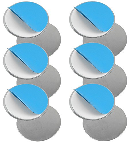 Set of 6 Magnetic Attachments for Smoke Detectors/Smooth Surfaces (Not Suitable for Woodchip Wallpaper/Loose Plaster) by TARGARIAN