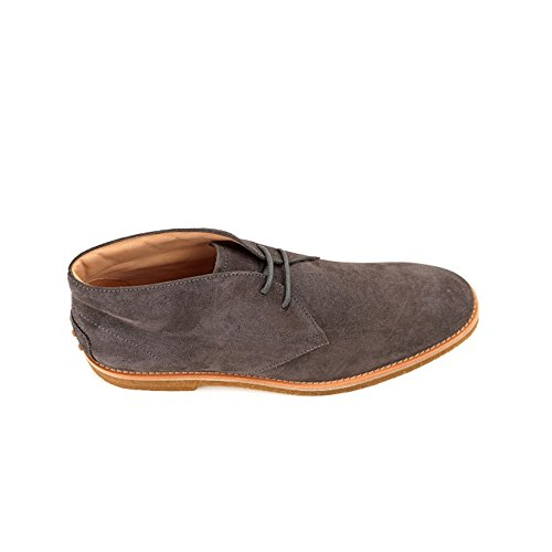 TOD'S HOMME XXM0RT00D82RE0B609 GRIS SUÈDE BOTTINES