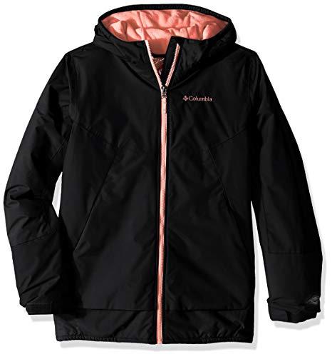 Columbia Little Girls' Snow Problem Jacket, Black, XX-Small ()