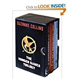 img - for The Hunger Games Trilogy Boxed Set, hardcover, Suzanne Collins Catching Fire, Mockingjay book / textbook / text book
