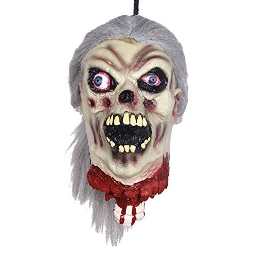 Fairy-Margot Halloween Decoration Scary Bloody Prank Toy Nail Through Head Halloween Props April Fools' Day Cosplay,x18102 ()