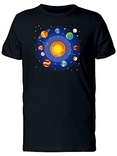 Solar System Planets Tee Men's -Image by Shutterstock from Teeblox