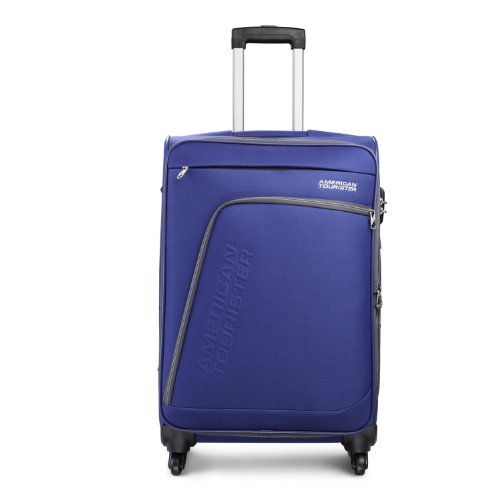 American Tourister Glider 68 cms Blue Soft sided Suitcase (33R (0) 01...