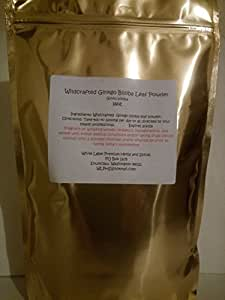 Premium Wildcrafted Ginkgo Biloba Leaf Powder 16oz ~ 1lb (pound) ~ White Label Premium Herbs and Spices ~ BULK ~ Fresh Strong and Aromatic~ Non GMO no additives or chemicals ~