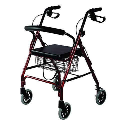 Vissco Dura Rollator with Seat and Basket – 2924