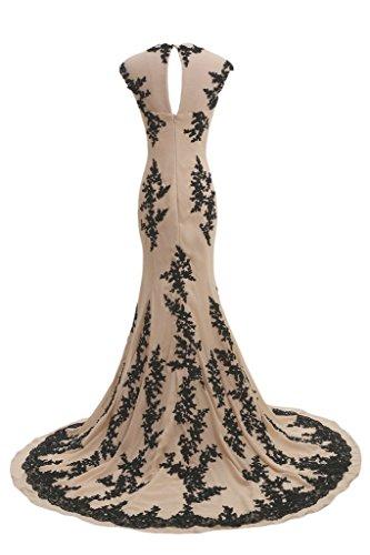 ParteiKleid Ballkleider Weinrot Elegant Kleid Lang CoutureBridal® Abendkleid qxwFOPwA