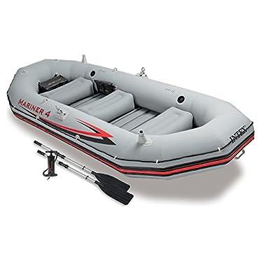 Intex Mariner 4-Person Inflatable Boat Set  (68376EP)