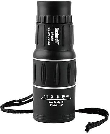16 55 mm monocular estuche de transporte/de alta definición/visión nocturna zoom Prismáticos/visión nocturna Negro: Amazon.es: Hogar