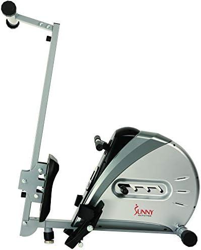 Sunny Health & sf-rw5606Cuerda elástica máquina de Remo de Fitness 11