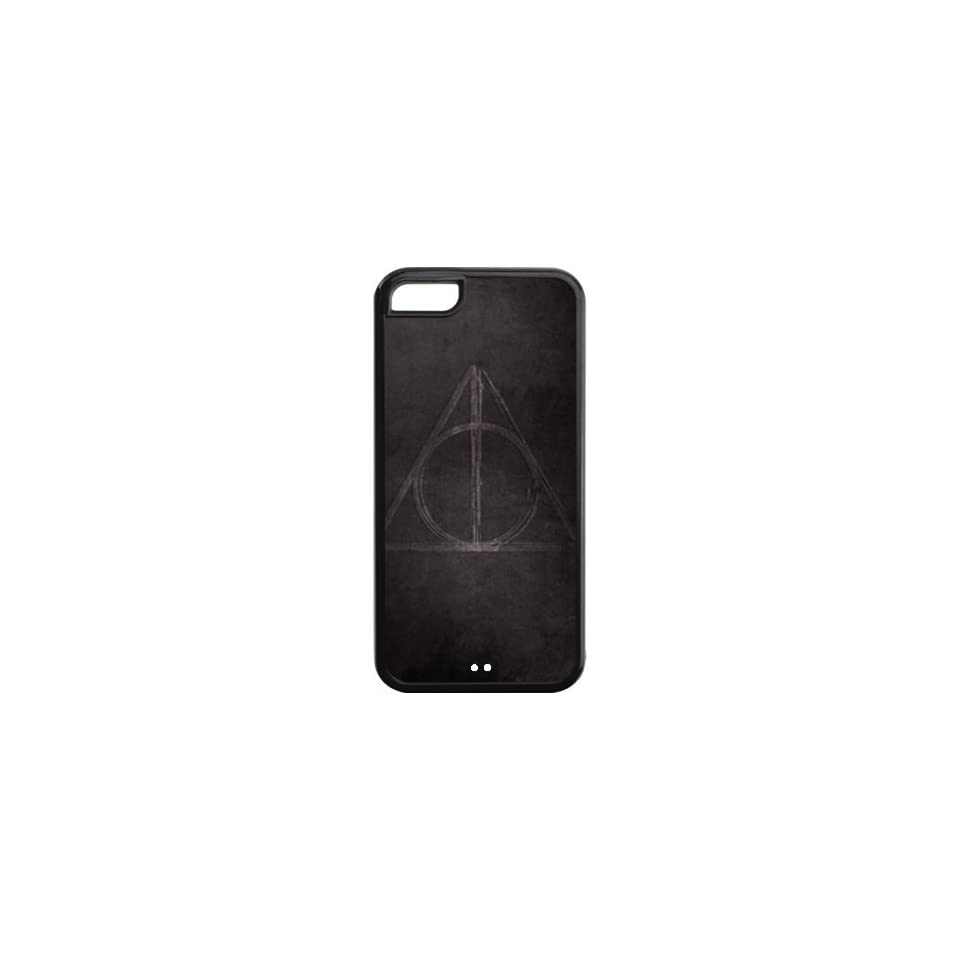 Harry Potter Quotes Design Black Sides TPU Case Protective For Iphone 5c iphone5c NY147
