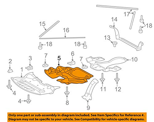 Mercedes Benz Genuine Center Cover 230-524-07-30 by Mercedes Benz (Image #3)
