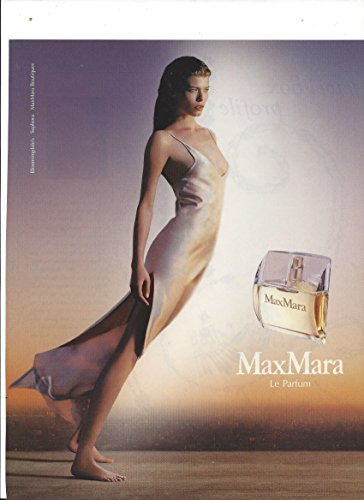**PRINT AD** With Louise Pedersen For 2005 Max Mara Le - Sale Mara Max