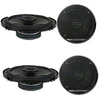 4 x Pioneer TS-G1620F 6.5-inch 2-way Car audio coaxial speakers 6-1/2