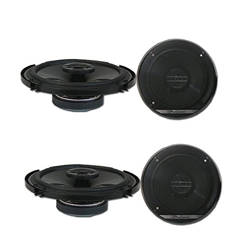 4 x Pioneer TS-G1620F 6.5-inch 2-Way Car Audio coaxial Speakers - 4 Pioneer Way