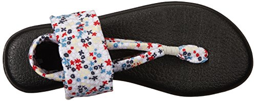 2 Sanuk Ditsy Tongs Sling Femme Glacier Floral Yoga anazCWrE