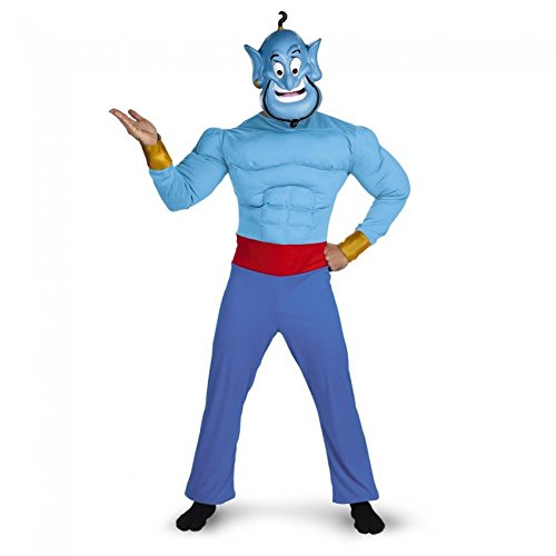 Aladdin - Genie Adult Muscle Chest Costume