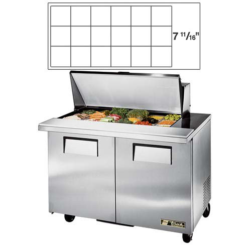 Food Prep Table Mega Top - 9
