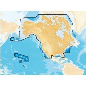 Navionics Preloaded Chart of All USA/Canada Gold and Hotmaps CF Format