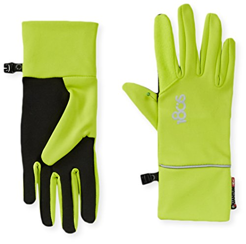 180s Women's Foundation Quantumheat Touchscreen Gloves, Lime Punch/Black, Medium (180s Green)